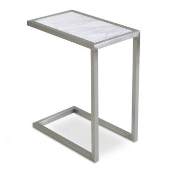 Alfa Marble Top End Table by sohoConcept