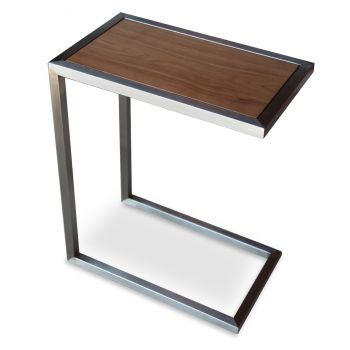 Alfa Wood Top End Table by sohoConcept