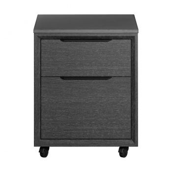 Amsterdam Filing Cabinet - Grey Oak