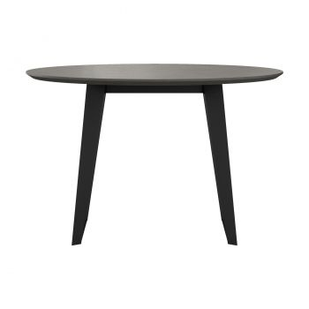 Amsterdam Round Dining Table - Grey Concrete
