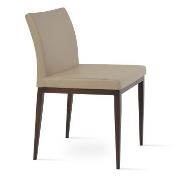 Aria Wood Grain Metal Chair by sohoConcept