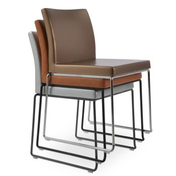 Aria Wire Stackable Chair by sohoConcept