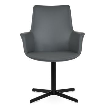 Bottega 4 Star High Back Swivel Armchair by sohoConcept