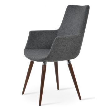 Bottega Ana High Back Armchair by sohoConcept