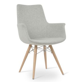 Bottega MW High Back Armchair by sohoConcept