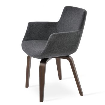Bottega Plywood Armchair by sohoConcept