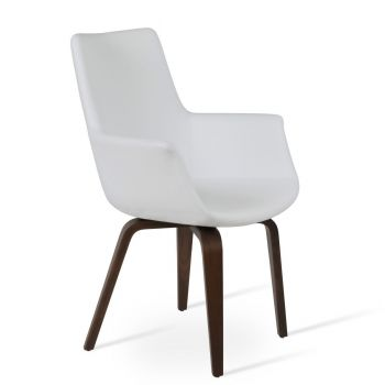 Bottega Plywood High Back Armchair by sohoConcept