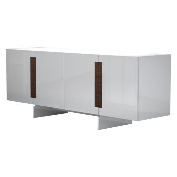 Brixton Sideboard - Glossy White