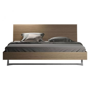 Broome Bed - Latte Walnut
