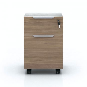 Broome Filing Cabinet - Latte Walnut