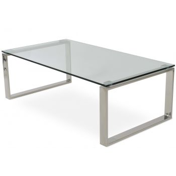 Calvin Glass Top Coffee Table by sohoConcept
