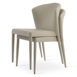 Capri Full Upholstered Stackable Chair by sohoConcept
