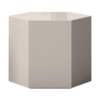 Centre 14in. Occasional Table - Glossy Chateau Gray Lacquer