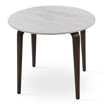 Chanelle Marble Top Dining Table by sohoConcept