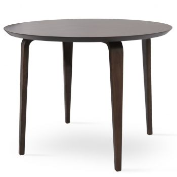 Chanelle Wood Top Dining Table by sohoConcept