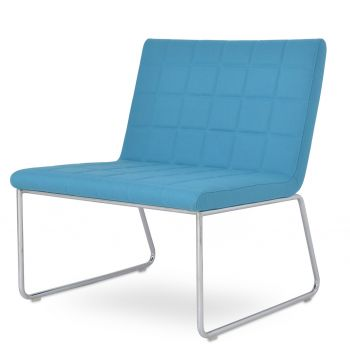 Chelsea Lounge Sled Chair by sohoConcept