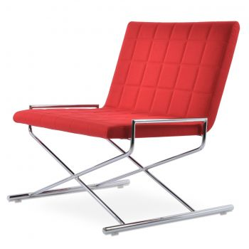 Chelsea Lounge X Sled Chair by sohoConcept