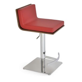 Dallas PL Piston Swivel Stool by sohoConcept