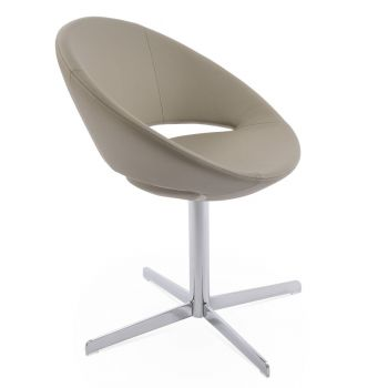 Crescent 4 Star Swivel Chair by sohoConcept