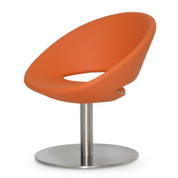 Crescent Lounge Round Swivel Chair by sohoConcept