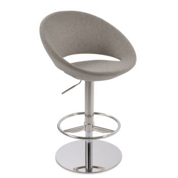 Crescent Piston Swivel Stool by sohoConcept