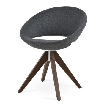 Crescent Pyramid Swivel Chair by sohoConcept