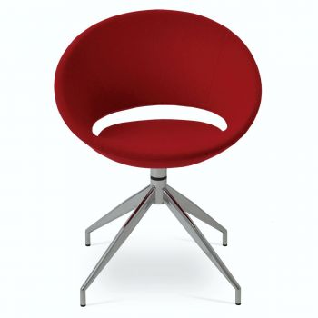 Crescent Spider Swivel Chair by sohoConcept