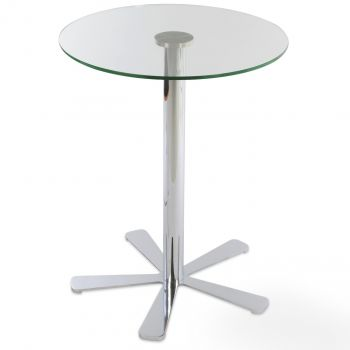 Daisy Glass Top Bar Table by sohoConcept
