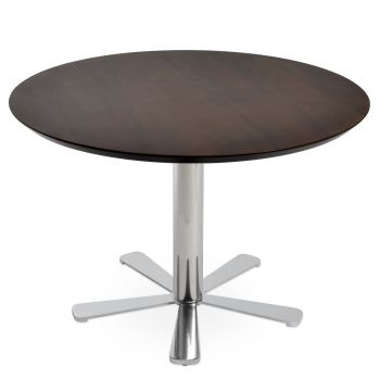 Daisy Wood Top Lounge Table by sohoConcept