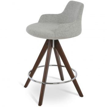 Dervish Pyramid Swivel Stool by sohoConcept