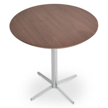 Diana Wood Top End Table by sohoConcept