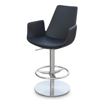Eiffel Arm Piston Swivel Stool by sohoConcept