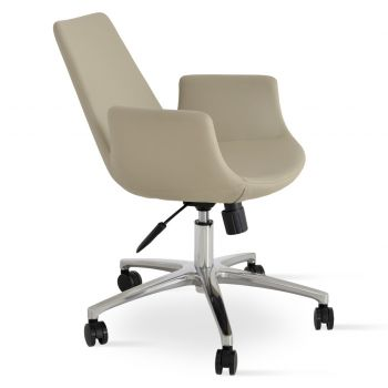 Eiffel Office Armchair by sohoConcept
