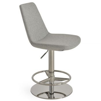 Eiffel Piston Swivel Stool by sohoConcept