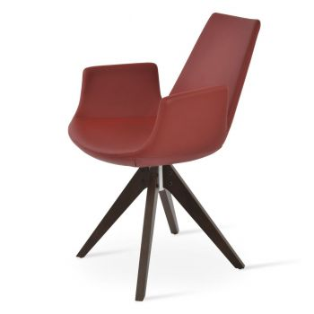 Eiffel Pyramid Swivel Armchair by sohoConcept