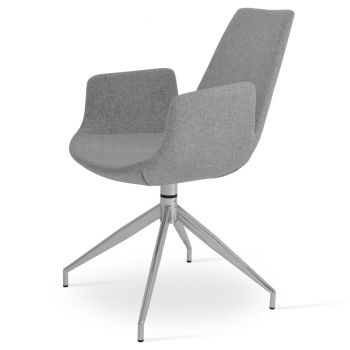 Eiffel Spider Swivel Armchair by sohoConcept