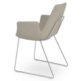Eiffel Handle Back Armchair by sohoConcept
