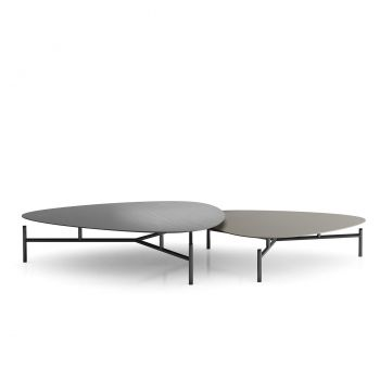 Finsbury Nesting Cofee Tables - Acier and Matte Grey