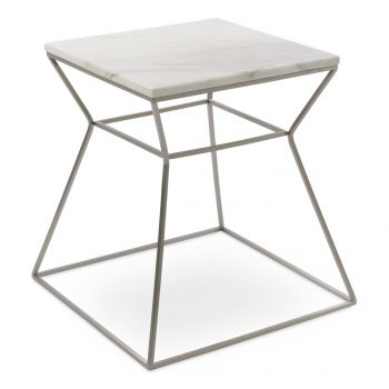 Gakko Marble Top End Table by sohoConcept