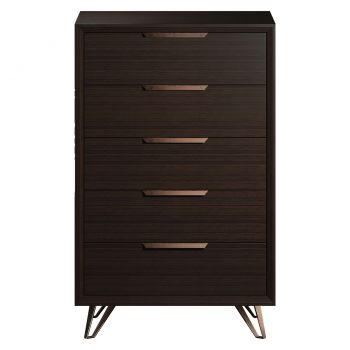 Grand High Chest Dresser - Espresso