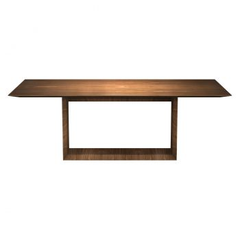 Greenwich 87in. Dining Table - Walnut