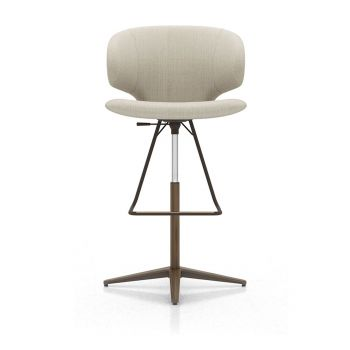 Harper Bar Stool - Oxford Tan Fabric