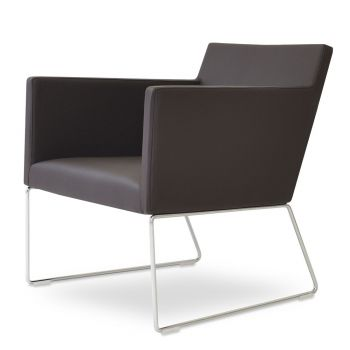 Harput Vogue Wire Lounge Armchair by sohoConcept