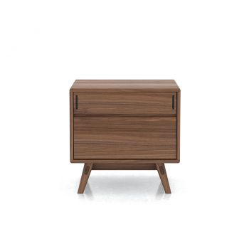 Haru Nightstand - Walnut