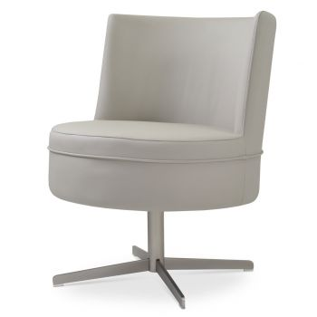 Hilton 4 Star Swivel Lounge Armchair by sohoConcept