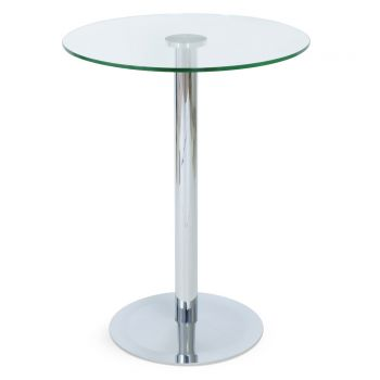 Lady Glass Top Bar Table by sohoConcept