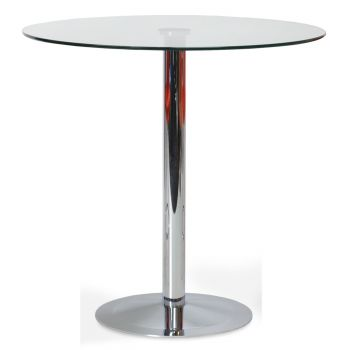 Lady Glass Top Counter Table by sohoConcept