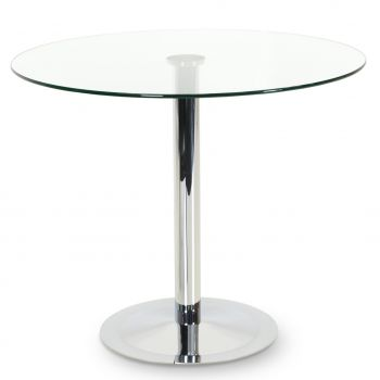 Lady Glass Top Dining Table by sohoConcept