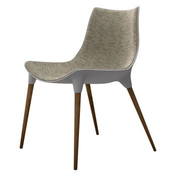Langham Dining Chair - Oatmeal Fabric