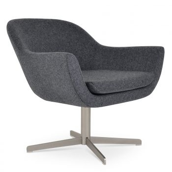 Madison 4 Star Swivel Lounge Armchair by sohoConcept